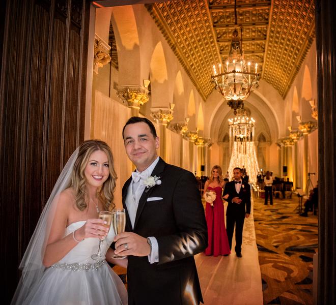 Spectacular Winter Wedding At Boca Raton Resort