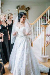 amy's bridal manassas justine alexander wedding dress