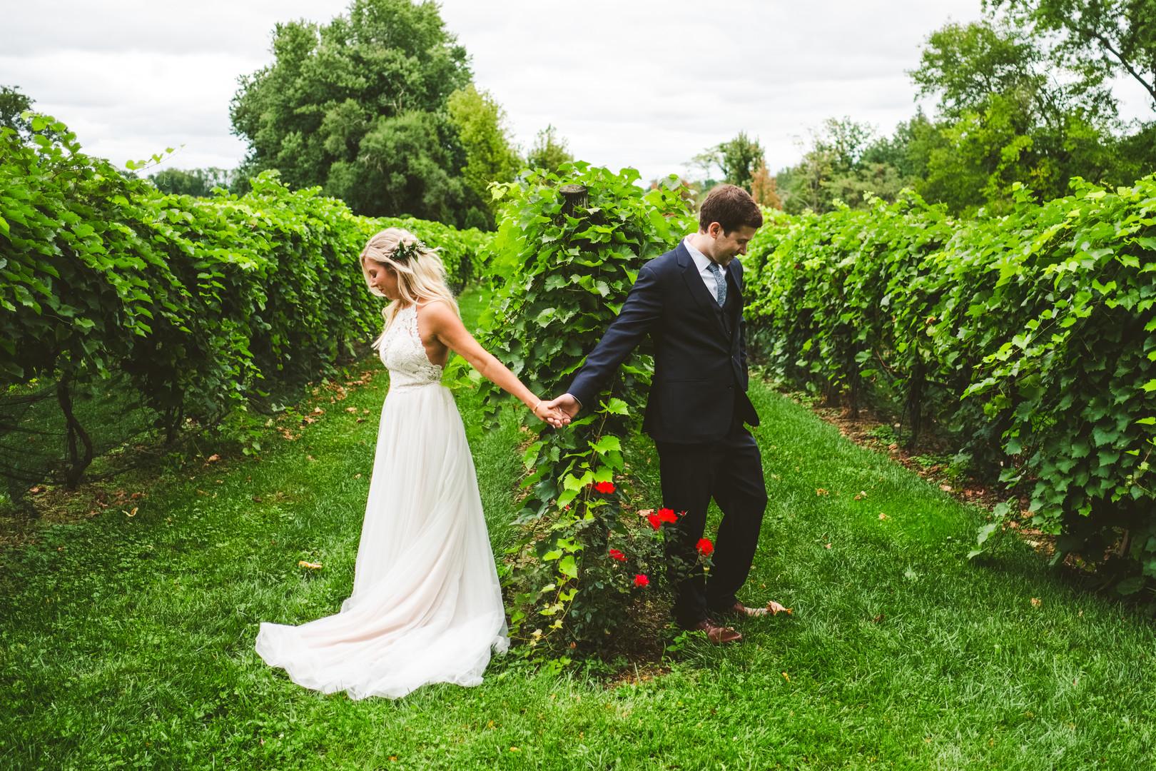 Boho Vineyard Wedding